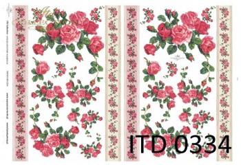 Papier decoupage ITD D0334M