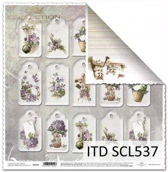 Papier scrapbooking SCL537