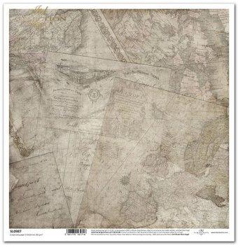 Papier scrapbooking SL0987
