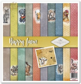 Zestaw do scrapbookingu SLS-028 Happy farm