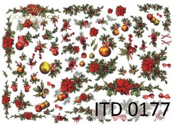 Papier decoupage ITD D0177