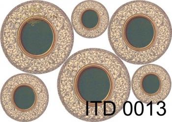 Papier decoupage ITD D0013