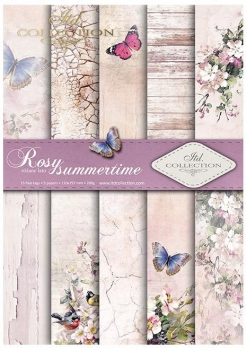 Papier do scrapbookingu SCRAP-045 ''Rosy summertime''