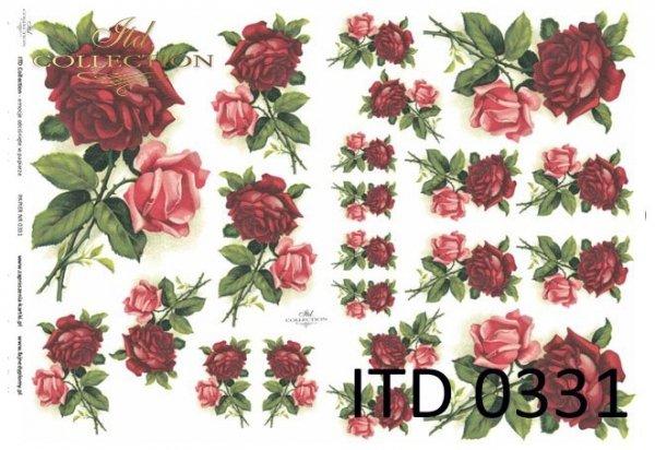 бумага для декупажа классическая D0331M