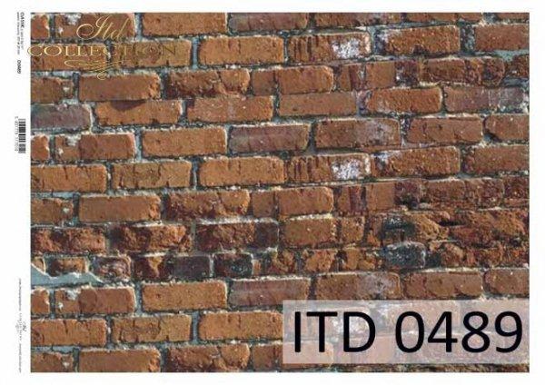 бумага для декупажа классическая D0489
