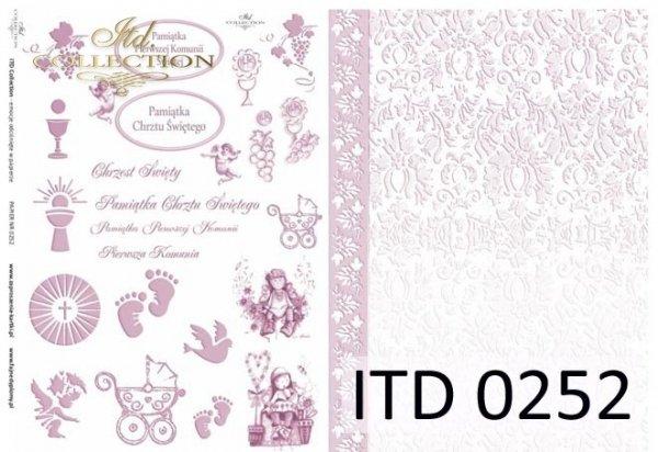 бумага для декупажа классическая D0252
