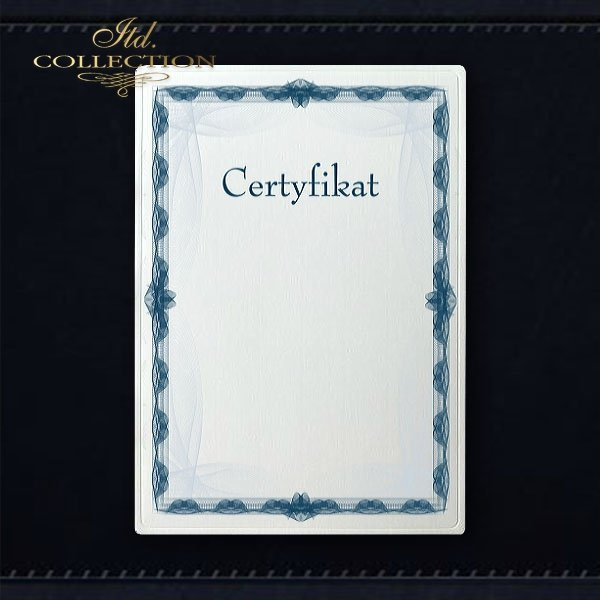 диплом DS0283 универсальный сертификат