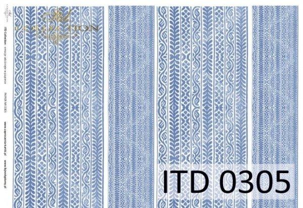 бумага для декупажа классическая D0305