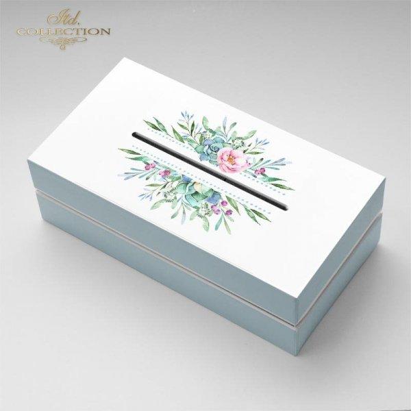 example-01-akwarele-kwiaty-różowe-żółte-niebieskie-listki-malutkie-kompozycje-roślinne-ramki-narożniki-dekory-roślinne-motywy-ślubne-na-skrzyneczki-pudełka-prezentowe-papier-decoupage-ryżowy-R1460