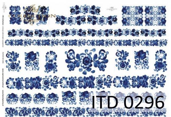 бумага для декупажа классическая D0296M