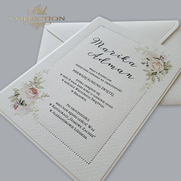 Invitaciones de comunión, para comunión, para niños*Приглашения причастия, для причастия, для детей