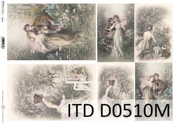 бумага для декупажа классическая D0510M