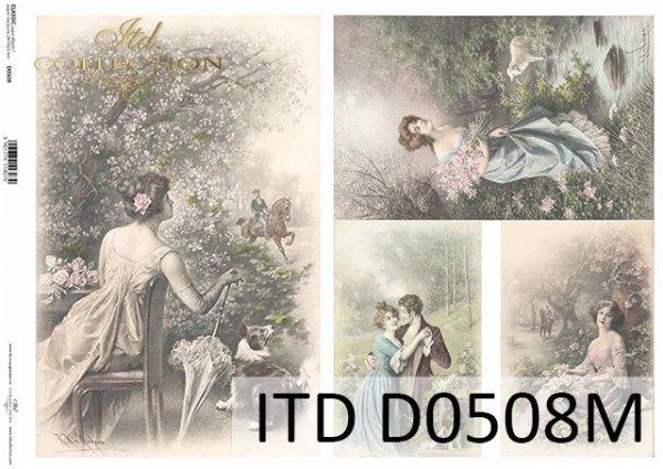 бумага для декупажа классическая D0508M