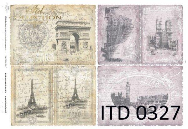 бумага для декупажа классическая D0327M