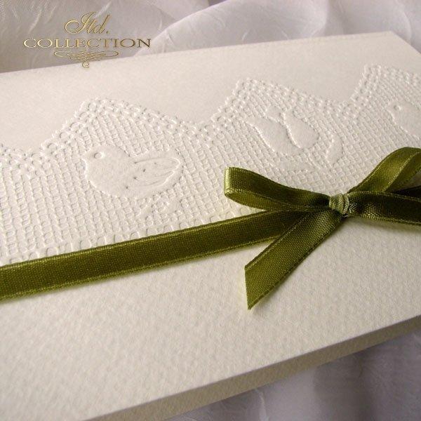 Пасхальная открытка с конвертом KW150