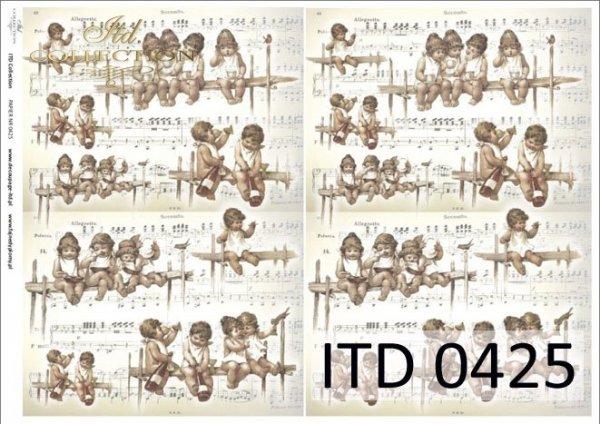 бумага для декупажа классическая D0425M