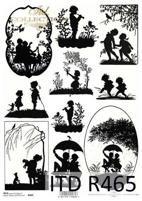 obrazki, dzieci, dzieciaki, dla dzieci, cienie, czarnobiałe, czarno-białe, R465