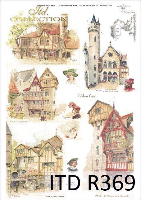 stare miasta; dawna Anglia, zamek, zamki, wieża, wieże, domy, architektura, budowle, kamienica, kamienice, popiersie, popiersia, R369