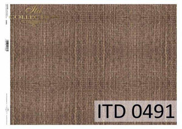 бумага для декупажа классическая D0491