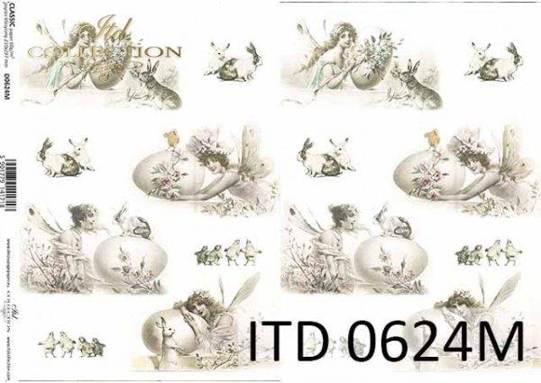 бумага для декупажа классическая D0624M