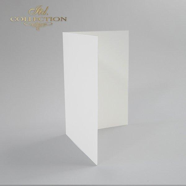 Заготовки для открыток BDK-001 натуральный белый