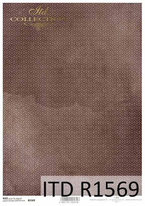 Papier decoupage brązowo-fioletowe tło*Decoupage paper brown-purple background