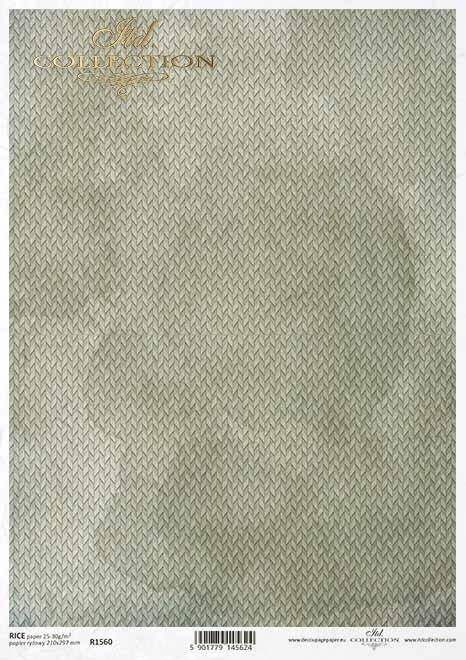 Decoupage papel fondo gris-verde*Decoupage Papier grau-grüner Hintergrund*Декупаж из бумаги серо-зеленый фон