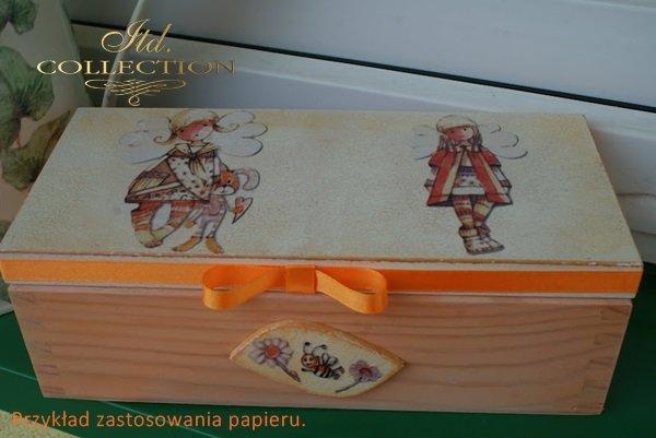 рисовая бумага для декупажа R0089