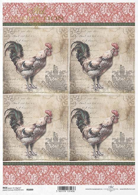Wielkanoc-Easter-Ostern-Pascua-decoupage-rice-paper-stencil-mixed-media-folie-termoton-ITD-Collection