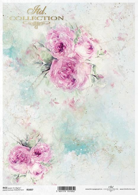 Shabby Chic, tło, tapeta, akwarela, pastelowe róże * Shabby Chic, background, wallpaper, watercolour, pastel roses