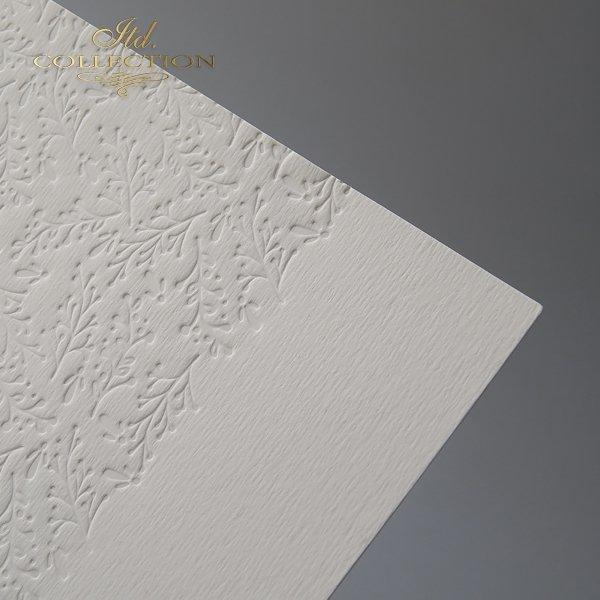 Base para las tarjetas - crema*Basis für die Karten - Creme