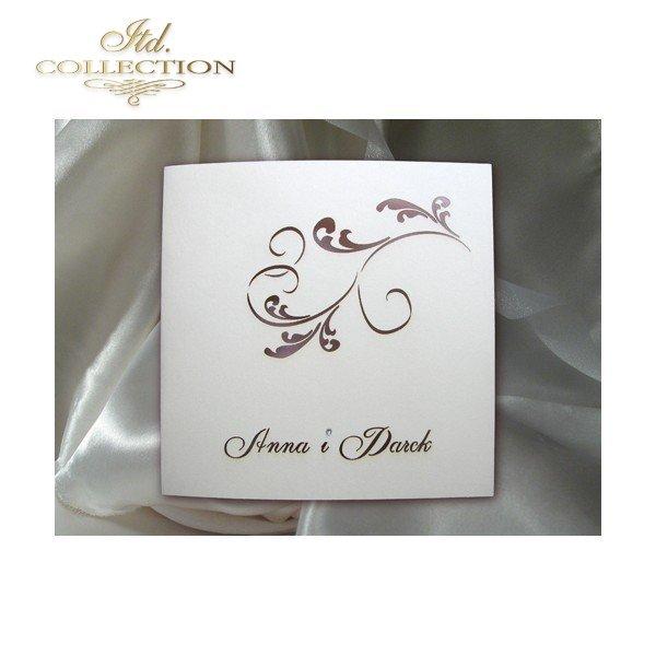 Einladungskarten / Hochzeitskarte 1457