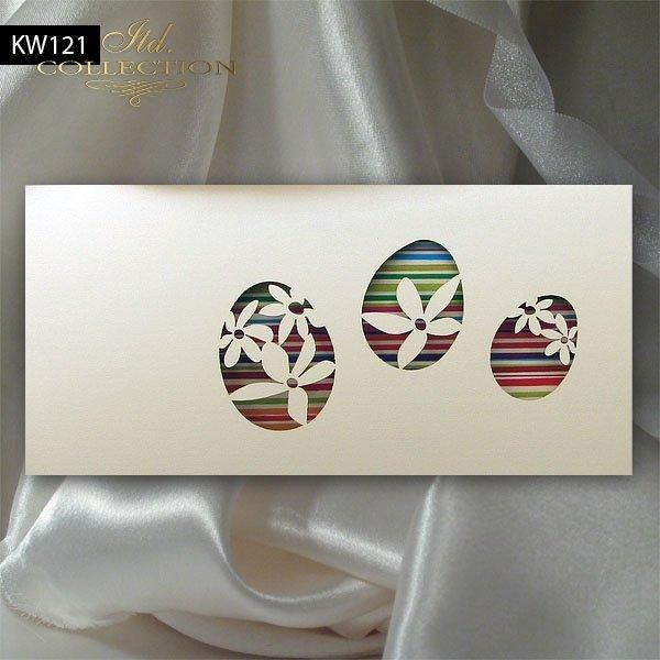 Osterkarte KW121