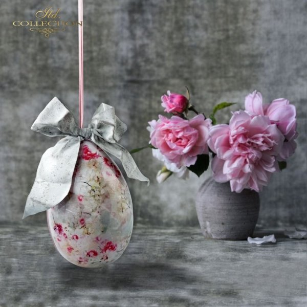 rice paper * shabby chic * example - 2