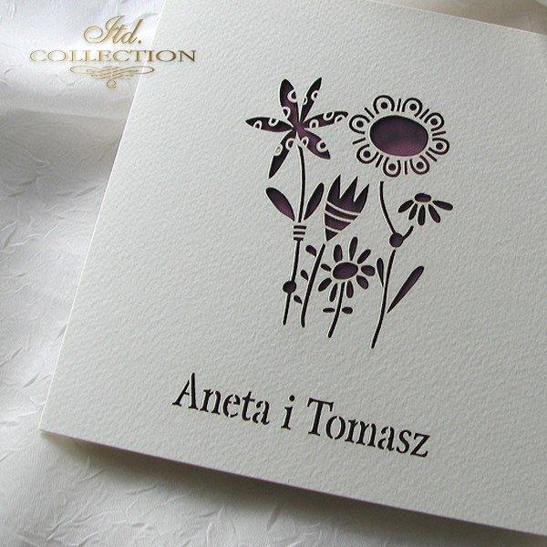 Invitations / Wedding Invitation 1732_56_claret