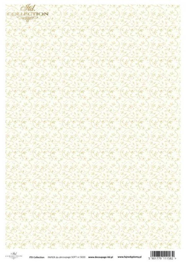 Decoupage paper Soft ITD S0020
