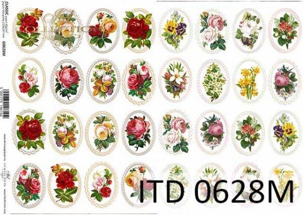 Decoupage paper ITD D0628M