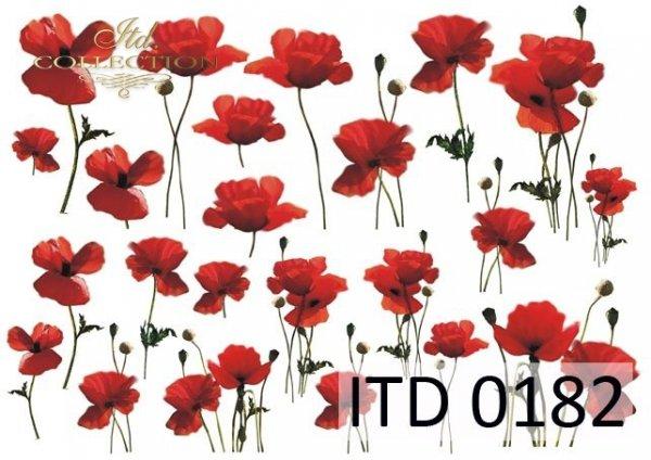 Decoupage paper ITD D0182M