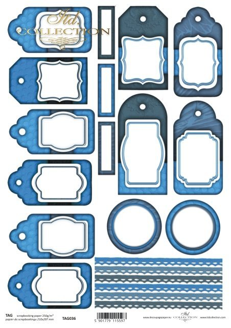 Tags, frames to scrapbooking TAG0036