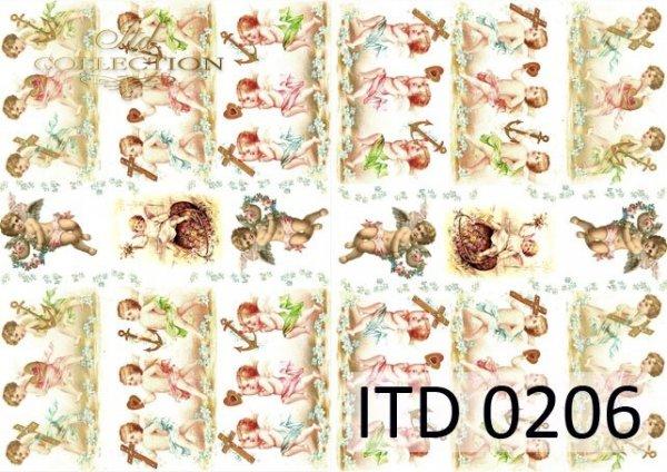 Decoupage paper ITD D0206M