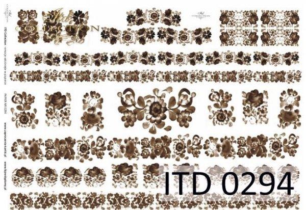 Decoupage Paper ITD D0294M