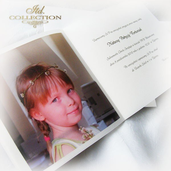 Holy Communion Invitation 1747_1 with photo