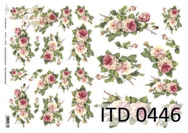 Decoupage paper ITD D0446M