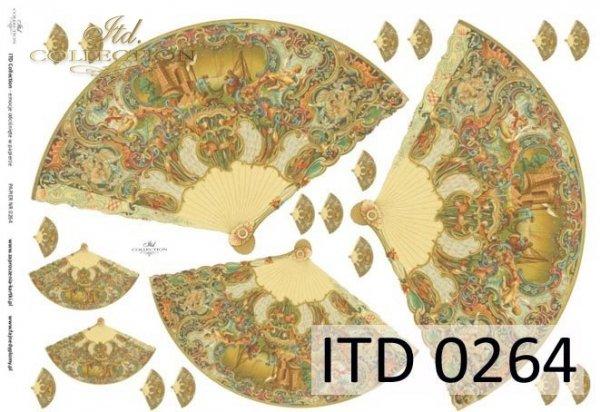 Decoupage paper ITD D0264M