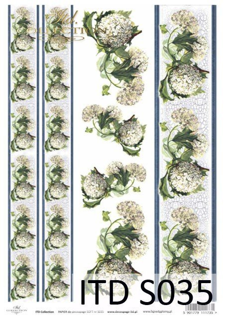 Decoupage paper Soft ITD S0035