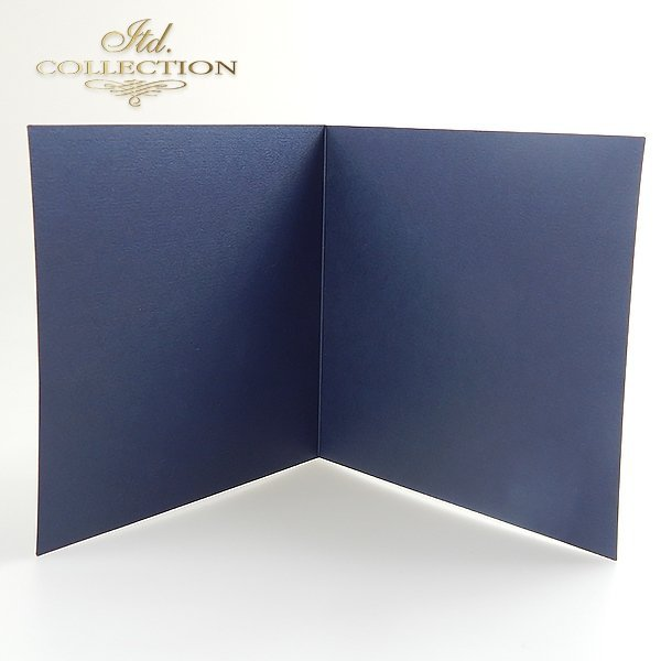 Card Base BDK-011 * navy blue colour