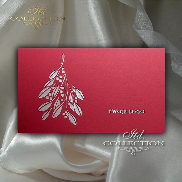 Christmas cards for business / Christmas card K468-J