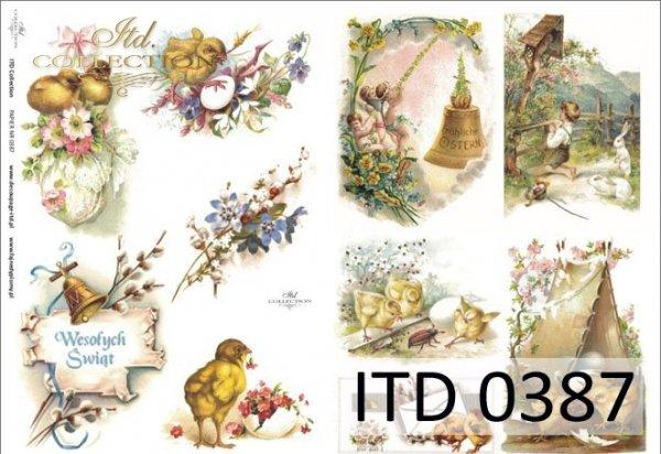 Decoupage paper ITD D0387M