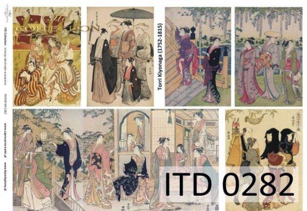 Decoupage paper ITD D0282M