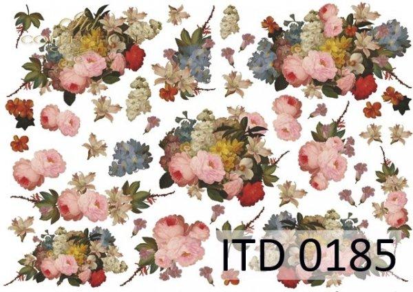 Decoupage paper ITD D0185M